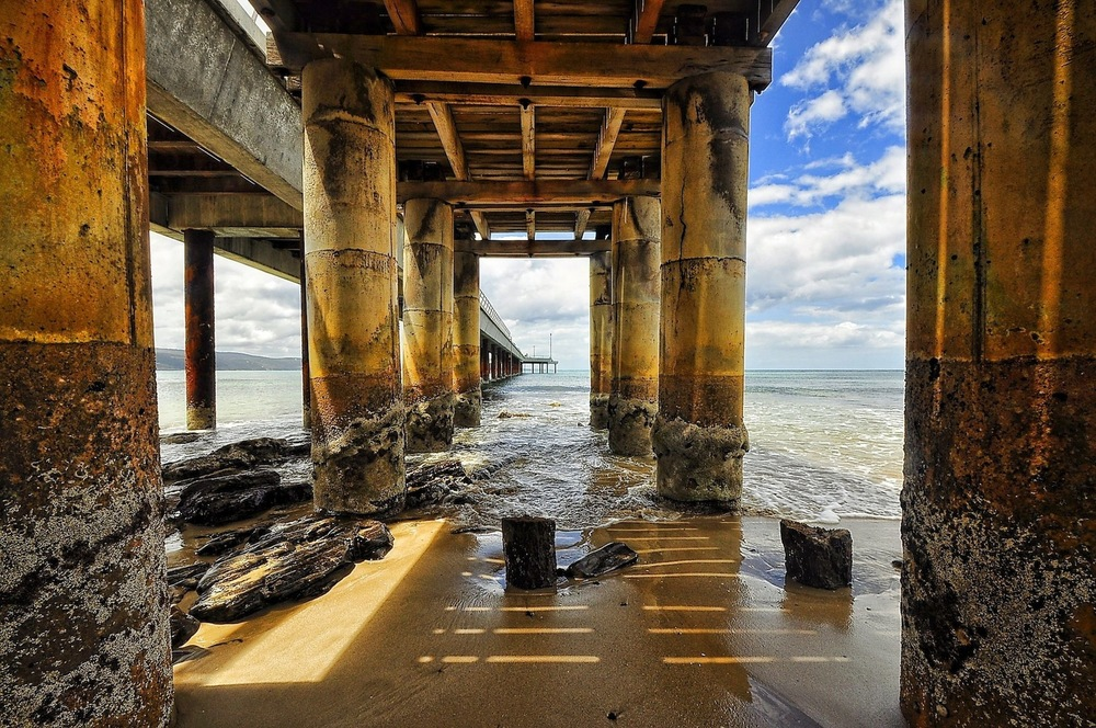"""Lorne Pier Detail""  by Joe Calleri"