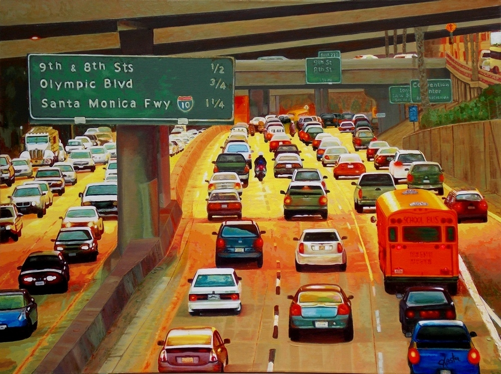 LA Commute by John Jaster