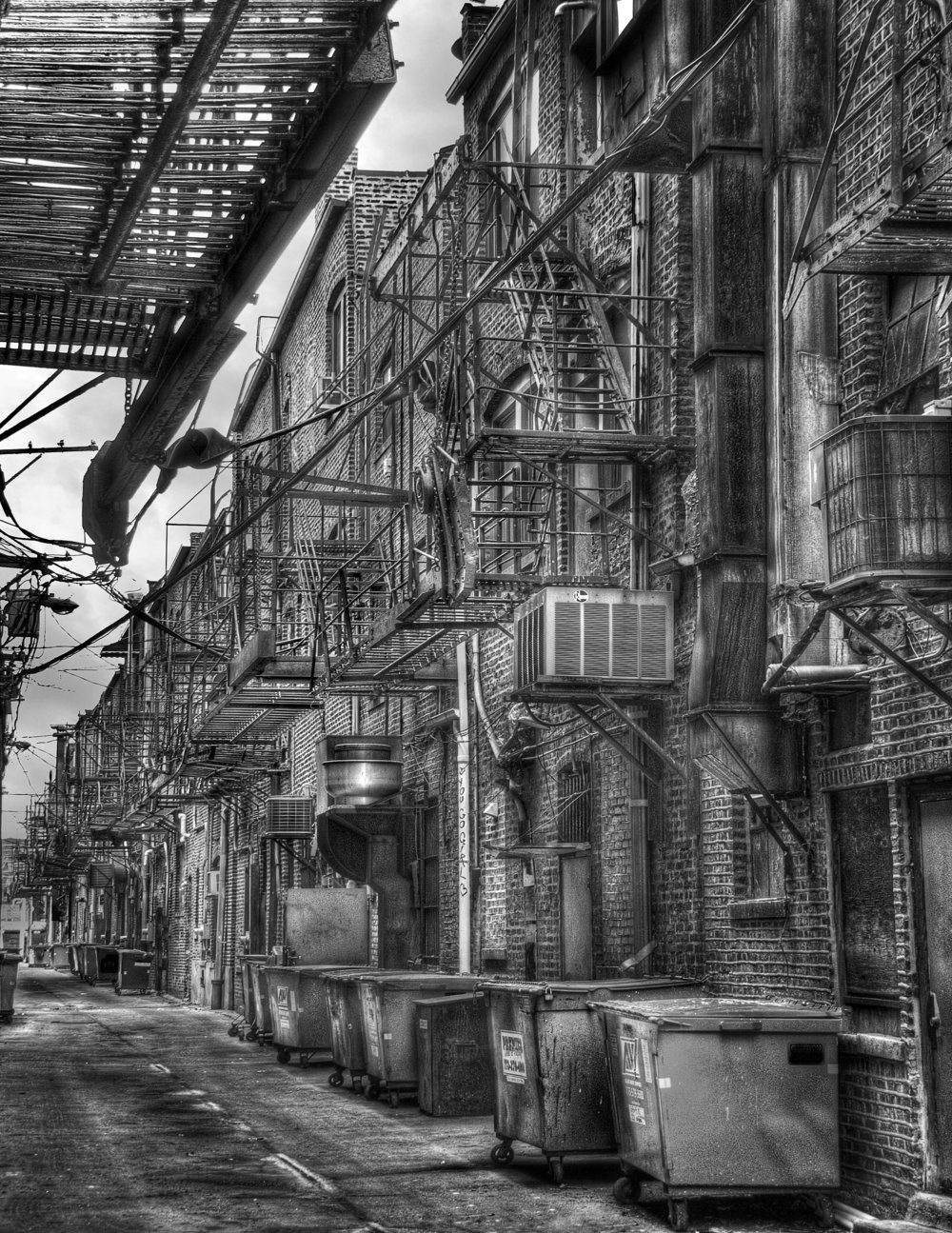 Chinatown Alley by Jay Spilker