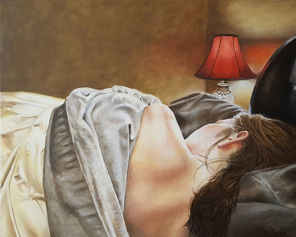 """""""Sleeping with the lights on"""" by Jimmie Shealey"""