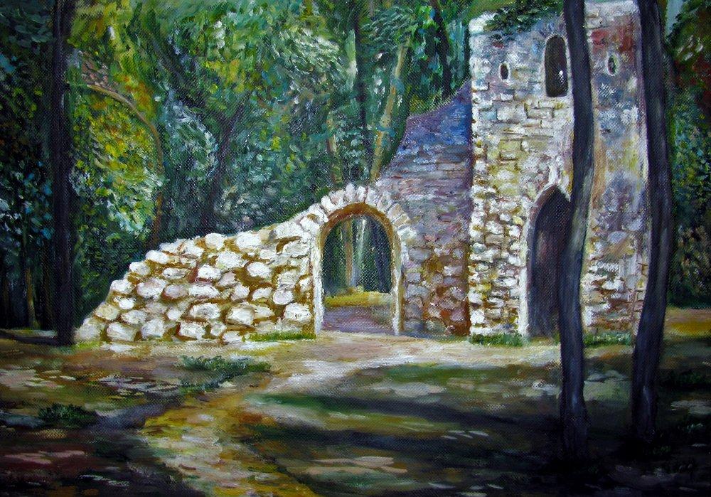 20496926-Velichkovski_Old castle in the forest_22x34_920.jpg