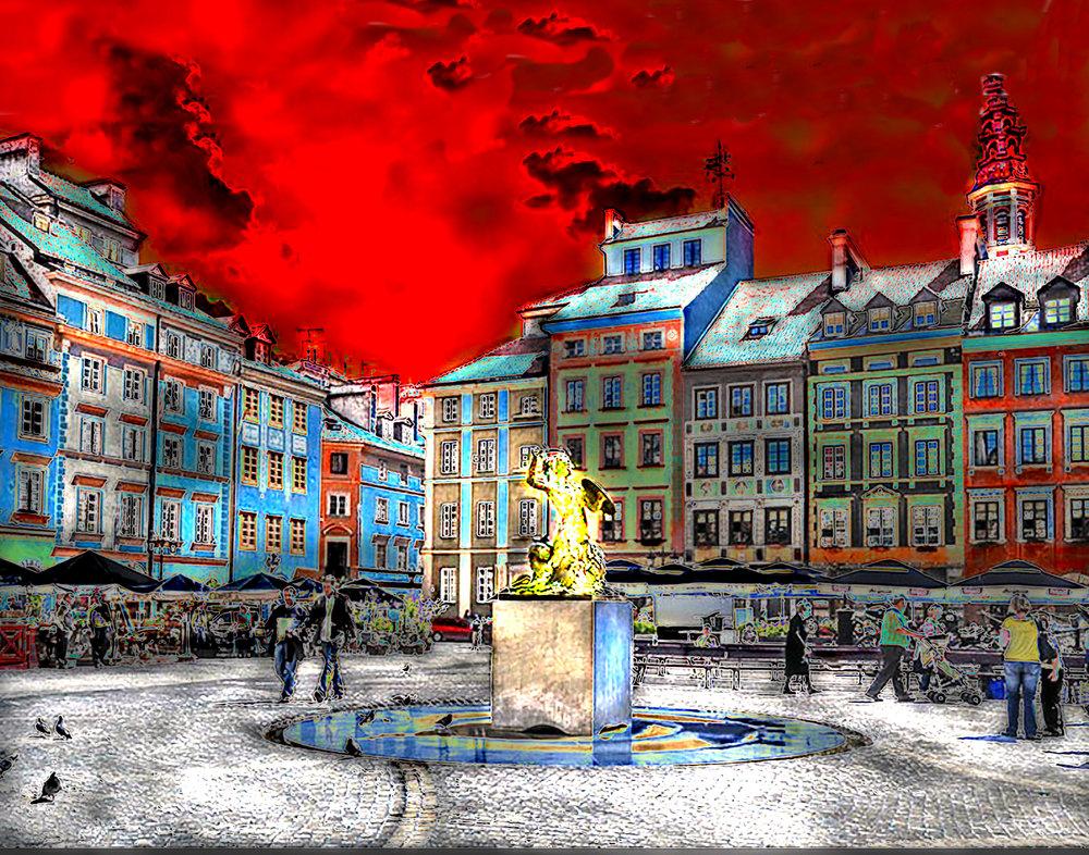 20496938-buckley_Warsaw Old Town_digital art_11x14_300.jpeg