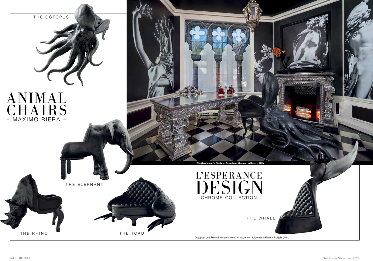 Octopus Chair the octopus chair — welcome to the world of l'esperance design