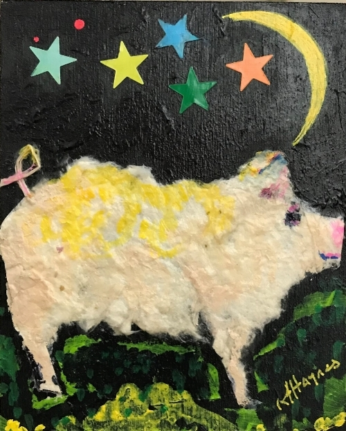 Kathryn Harley Haynes - Pig 3 - Under the Moonlight.JPG