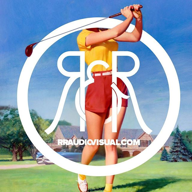 Brain is checked out #weekend ⛳️ rraudiovisual.com