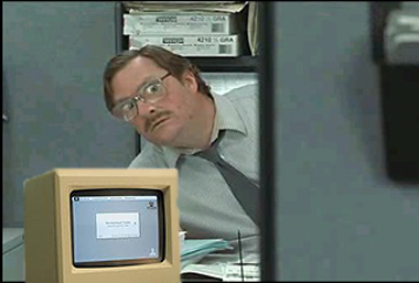 Excuse me, I believe you have my stapler...