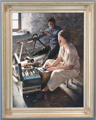 """Les Marguerites Fleuriront ce Soir""  by Jeffrey W. Bass (2006) (Image courtesy of CIA.gov)"
