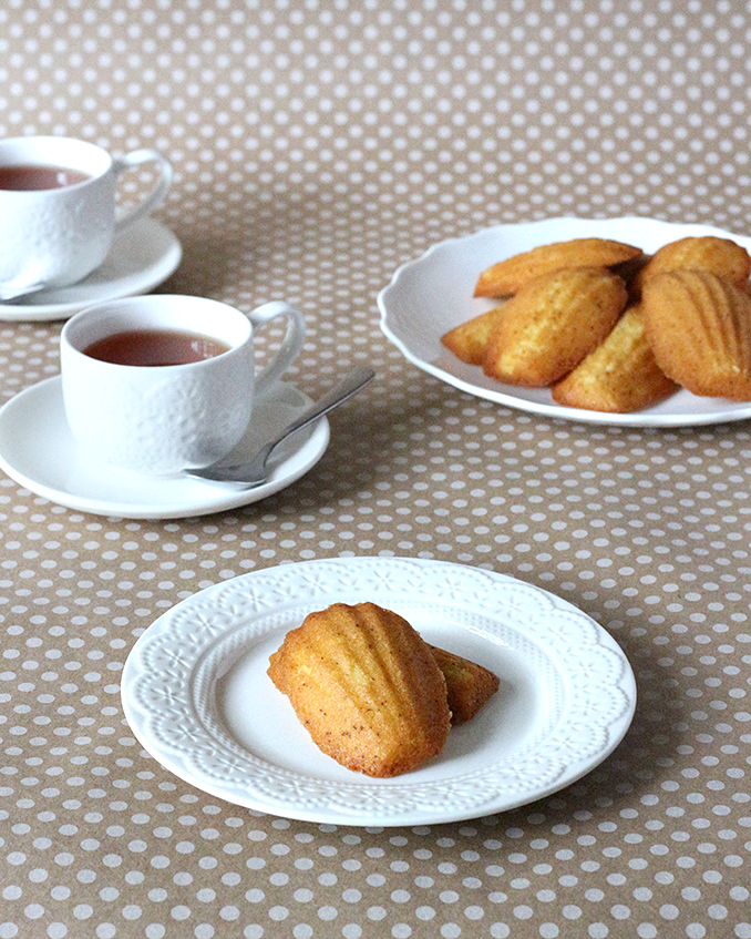 Browned Butter French Madeleines