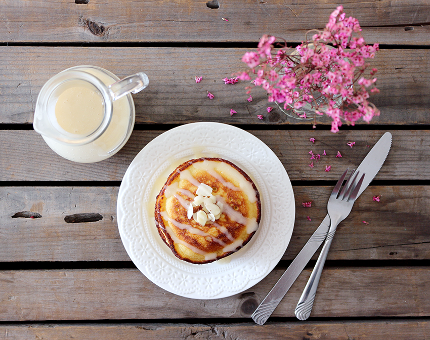 Gluten-free Pancakes with Honey Glaze