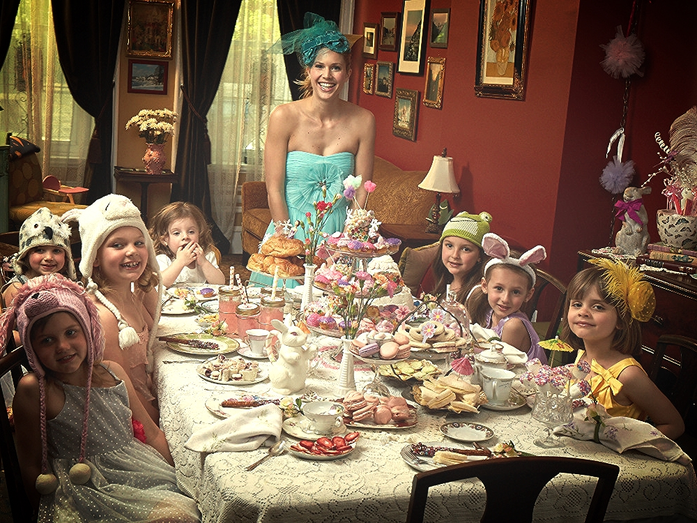my tea madness & my passion for baking come to life through my work with my tea party shoot!