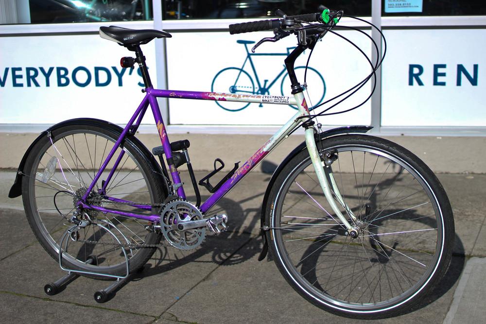 Commuter Bike $25/Day $60/3 Days $90/Week