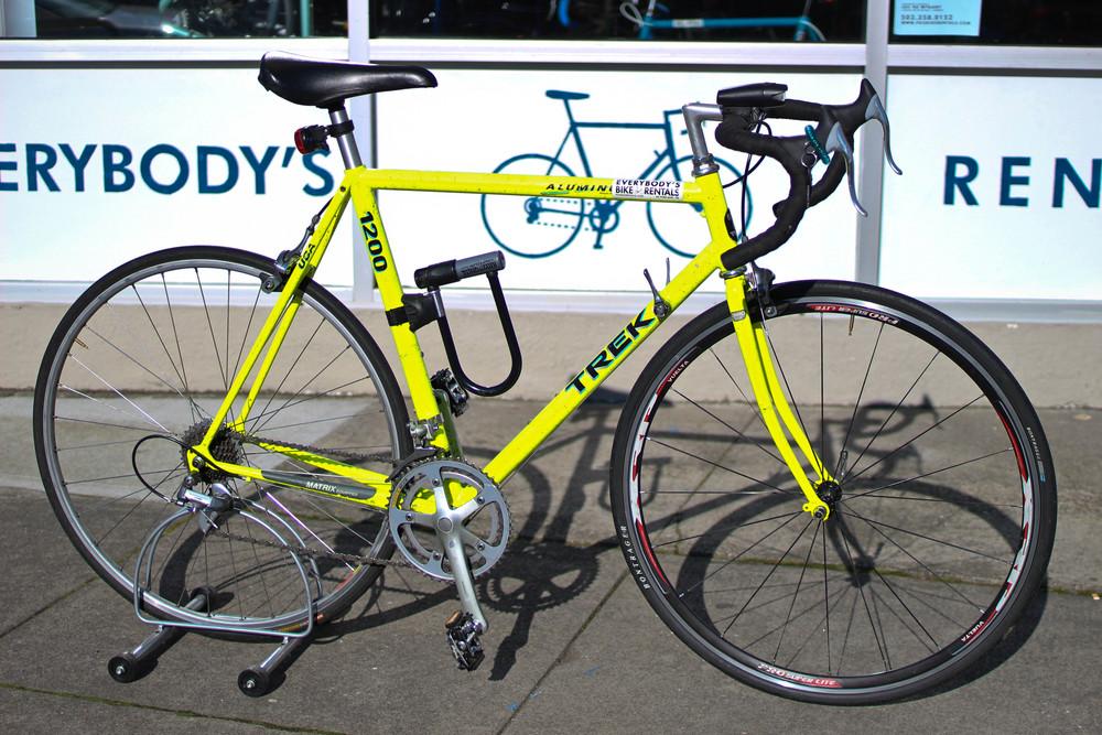 Road Bike $30/Day $75/3 Days $110/Week