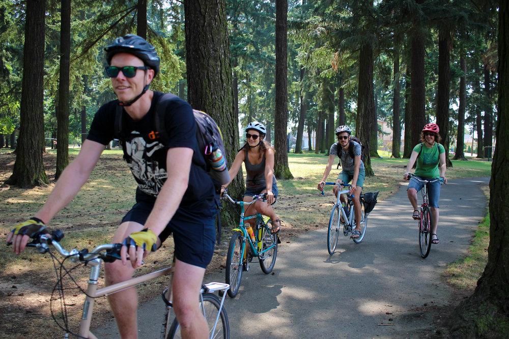 bike tours portland or