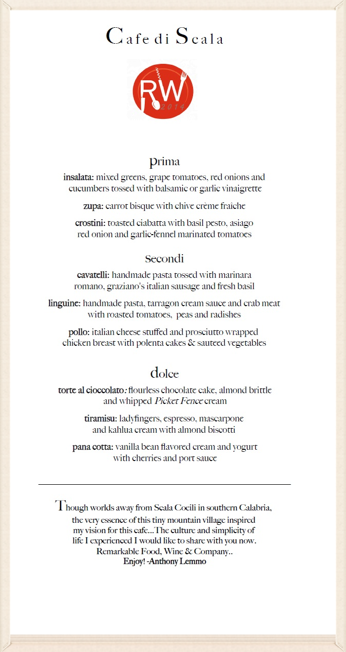 Join us for Restaurant week the week of August 15-24. Call us at 515-244-1353 for reservations.