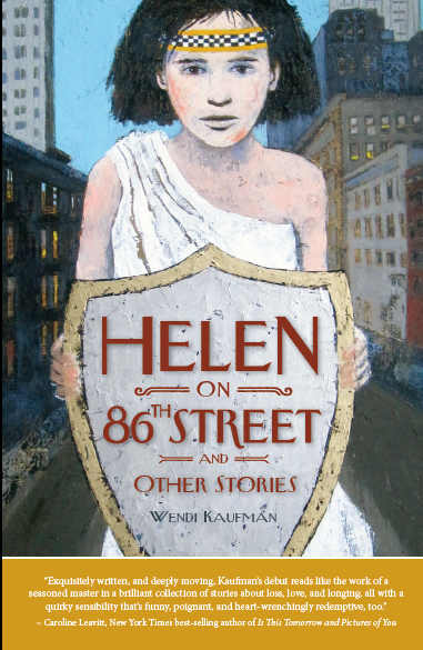 "Helen on 86th Street and Other Stories , Wendi Kaufman  8.5"" x 5.5"" ~ 198 pages  Print: $16.00, ISBN: 978-0-9905169-0-3  E-book: $9.99, ISBN: 978-0-9905169-1-0  Distributor: Ingram  Available for direct purchase  here  and most major retail outlets"