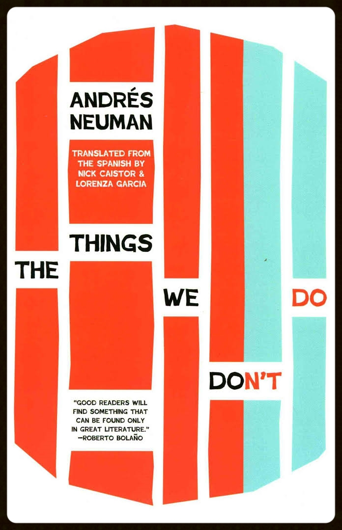 The Things We Don't Do ,  Open Letter, 2015