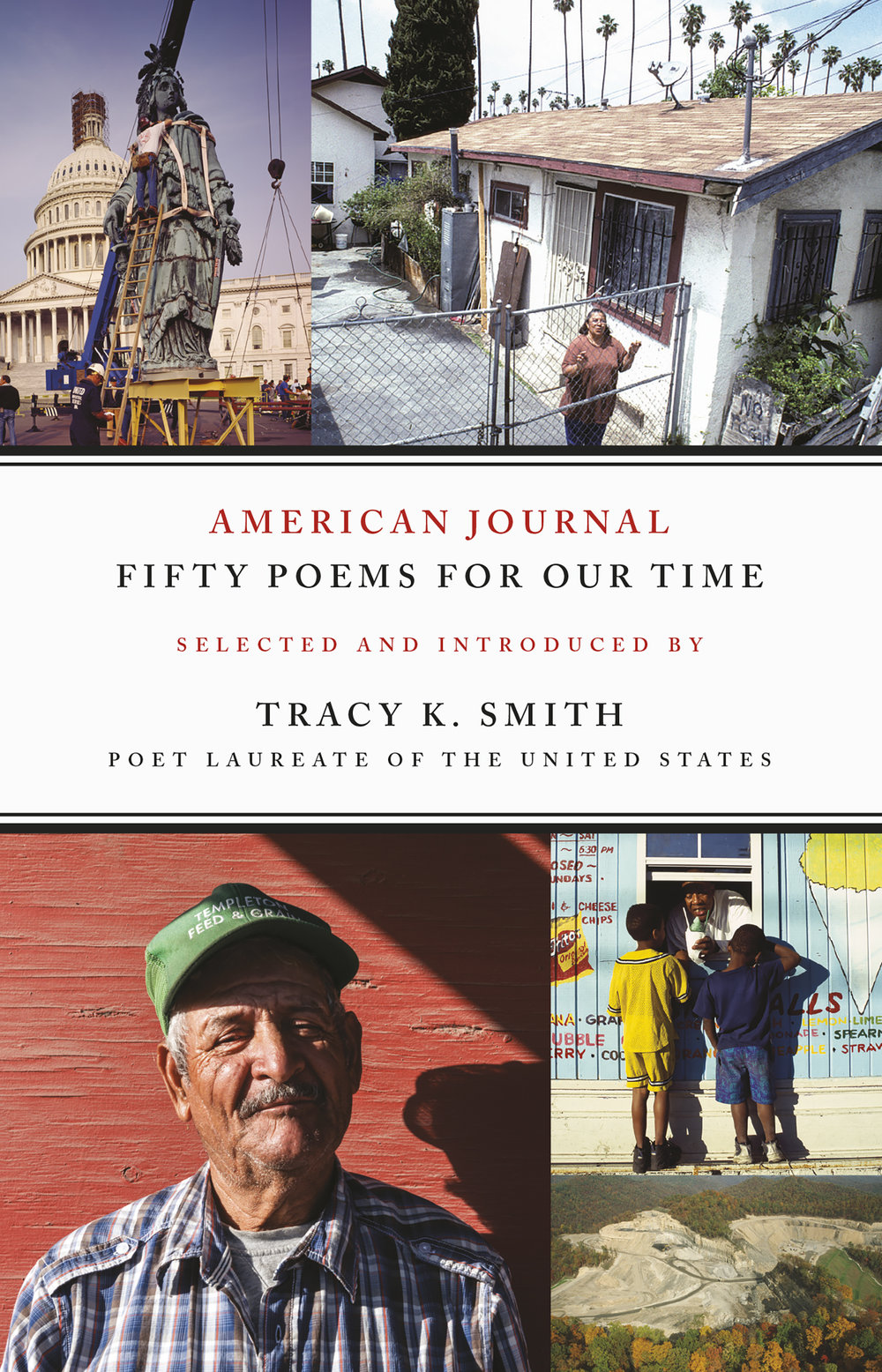 American Journal: Fifty Poems for Our Time  was edited by Tracy K. Smith and released in September from Graywolf Press.