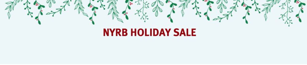 The New York Review of Books holiday sale is happening now.