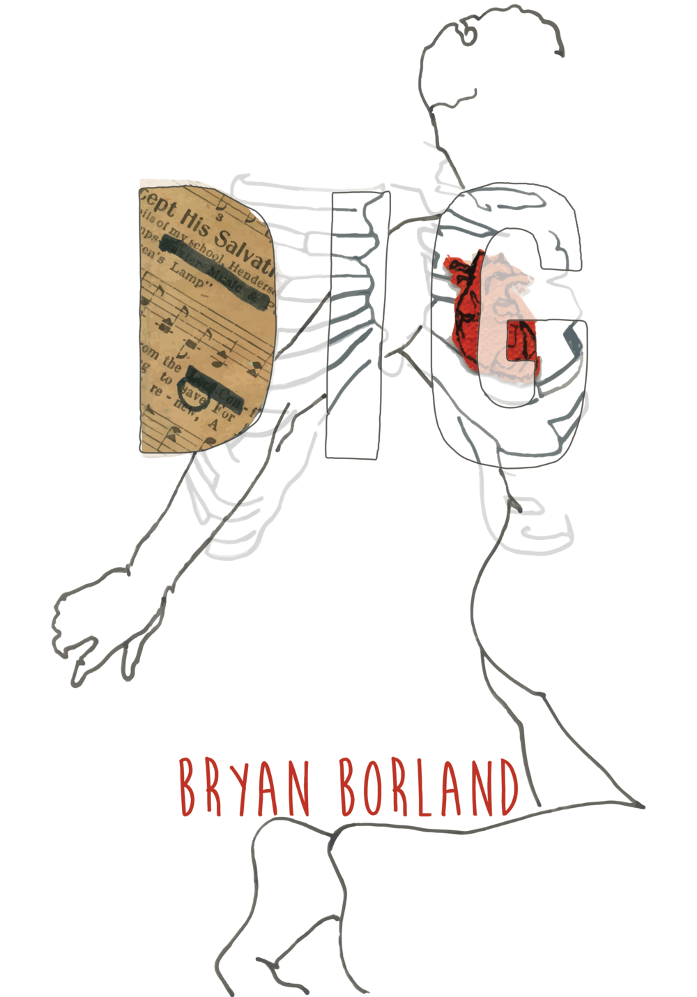"The cover of Bryan Borland's ""Dig"""