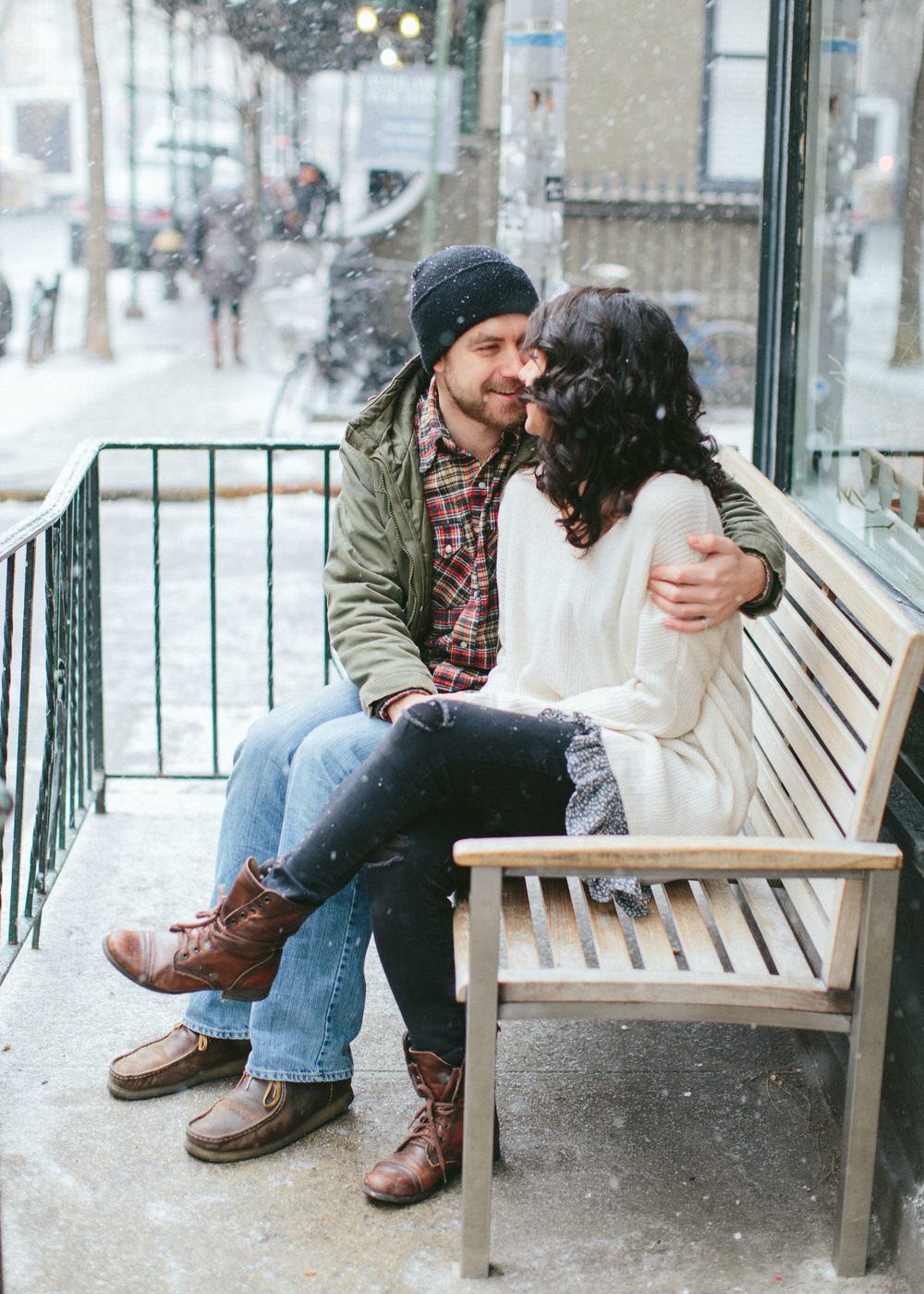 Sarah Best Photography / Meggie & Matt / NYC Central Park Engagements