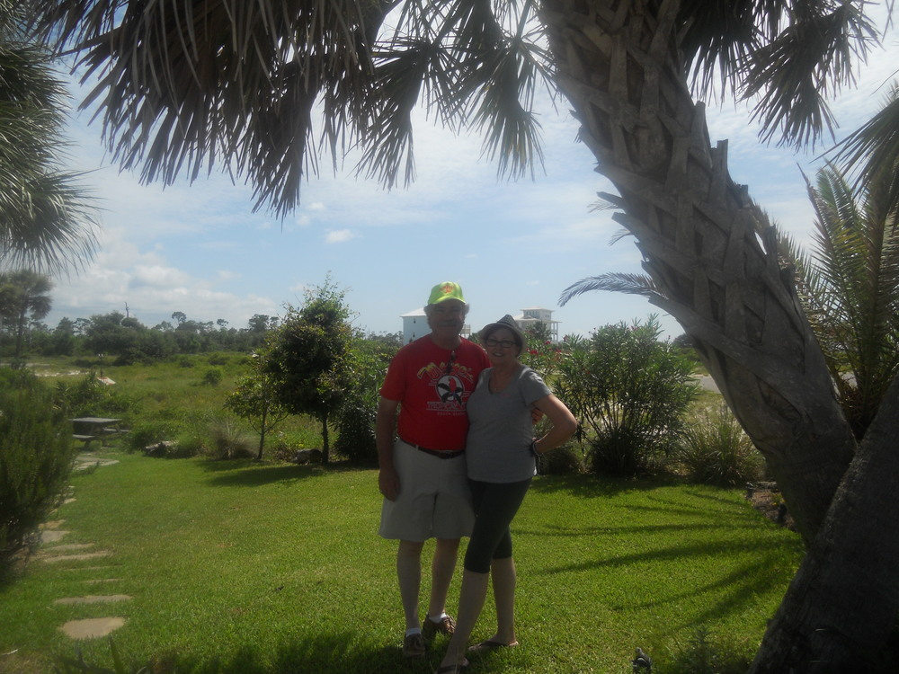 Bobby & Peggy at home of Jackie & Ken Jones, Perdido, FL