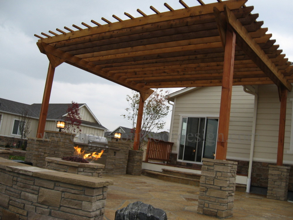 Wooden Awnings — Cuevas Outdoor Design