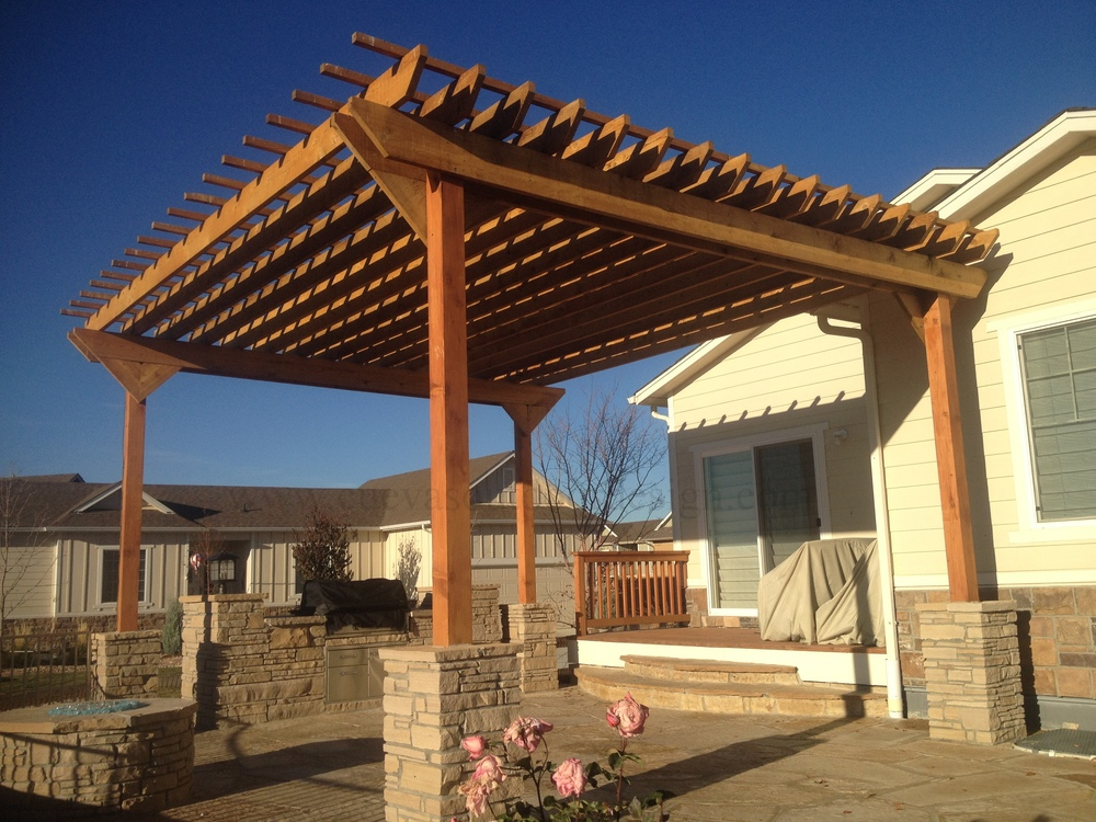 Wooden Awnings Cuevas Outdoor Design