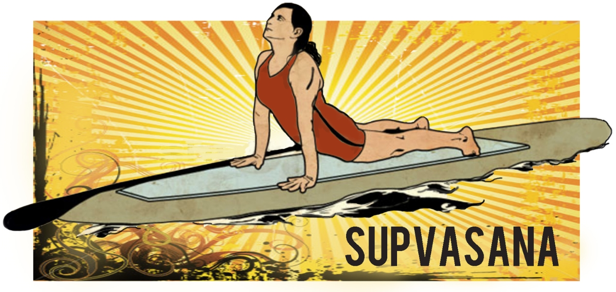 SUPVASANA Paddle Board Yoga and Fitness