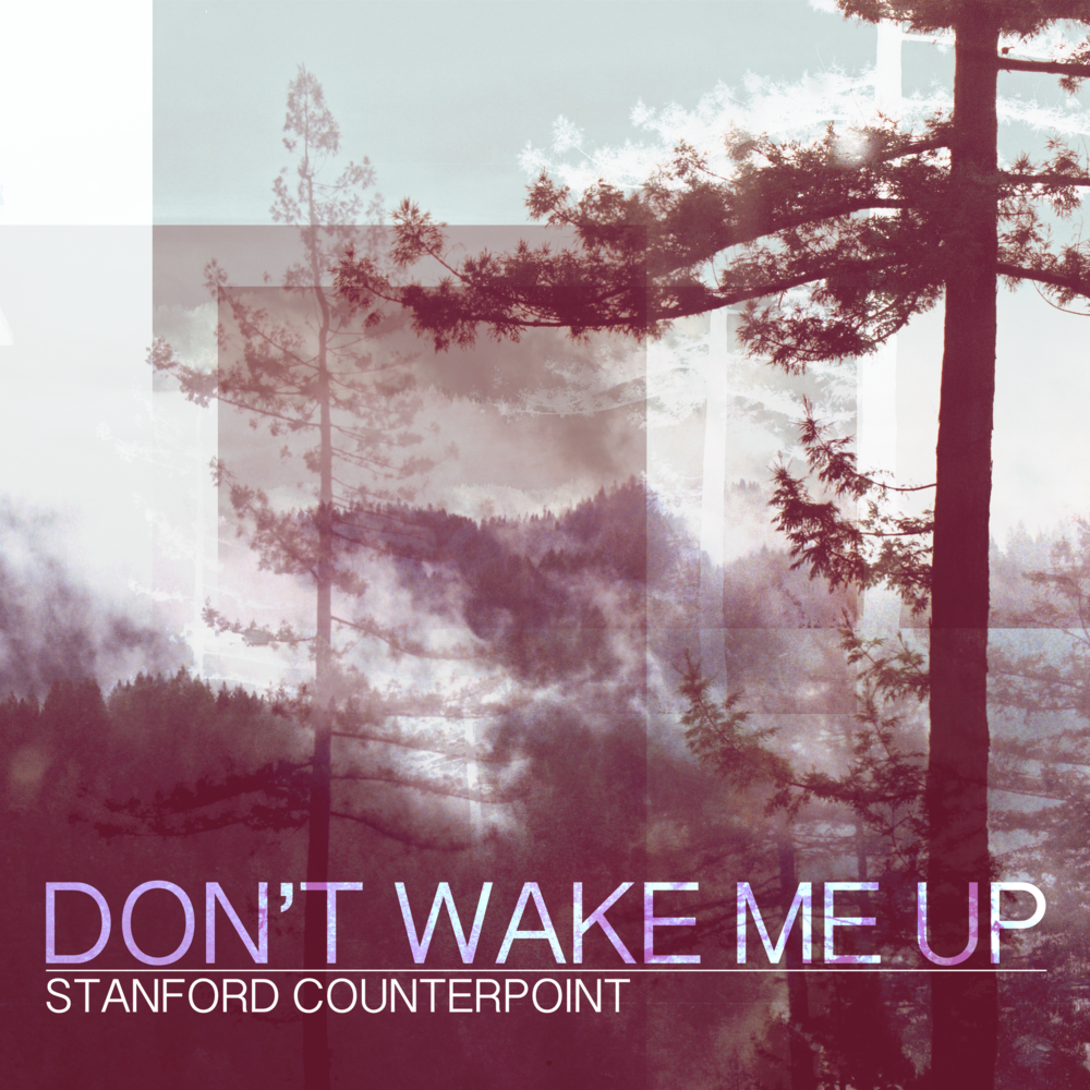 - Single artwork for Stanford Counterpoint's release, Wake Me Up, 2018