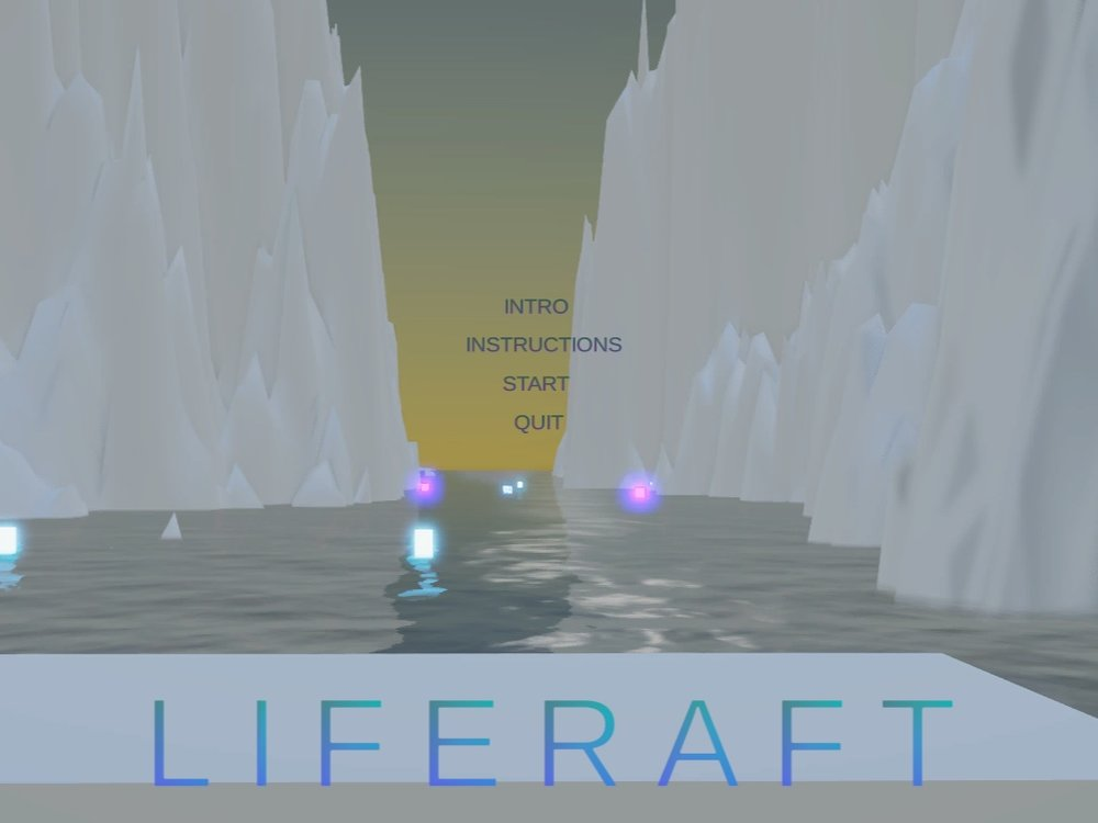 LIFERAFT - Liferaft is a game, an instrument, and a story. It was inspired by Minecraft, and allows the player to create both a sonic and physical landscape. Go here to view the full documentation and code.