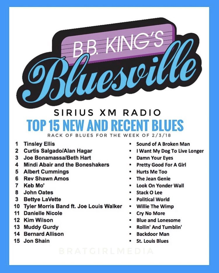 Top 10 in B B  King's Bluesville — The Reverend Shawn Amos