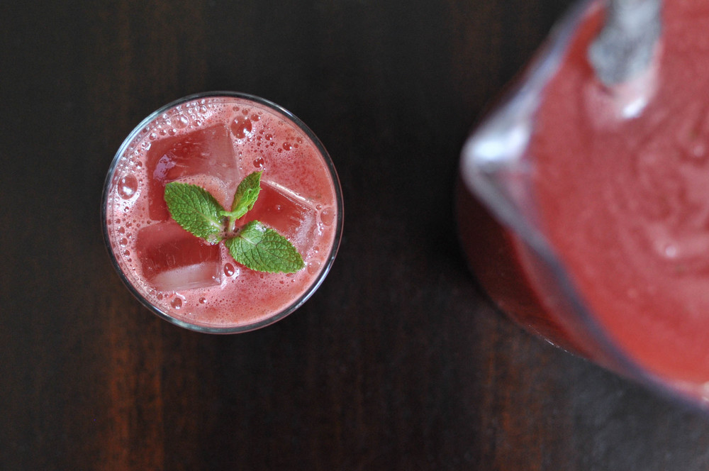 Watermelon Agua Fresca | O&O Eats
