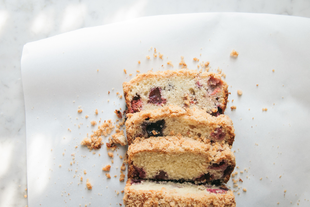 Triple Berry Coffee Cake | O&O Eats