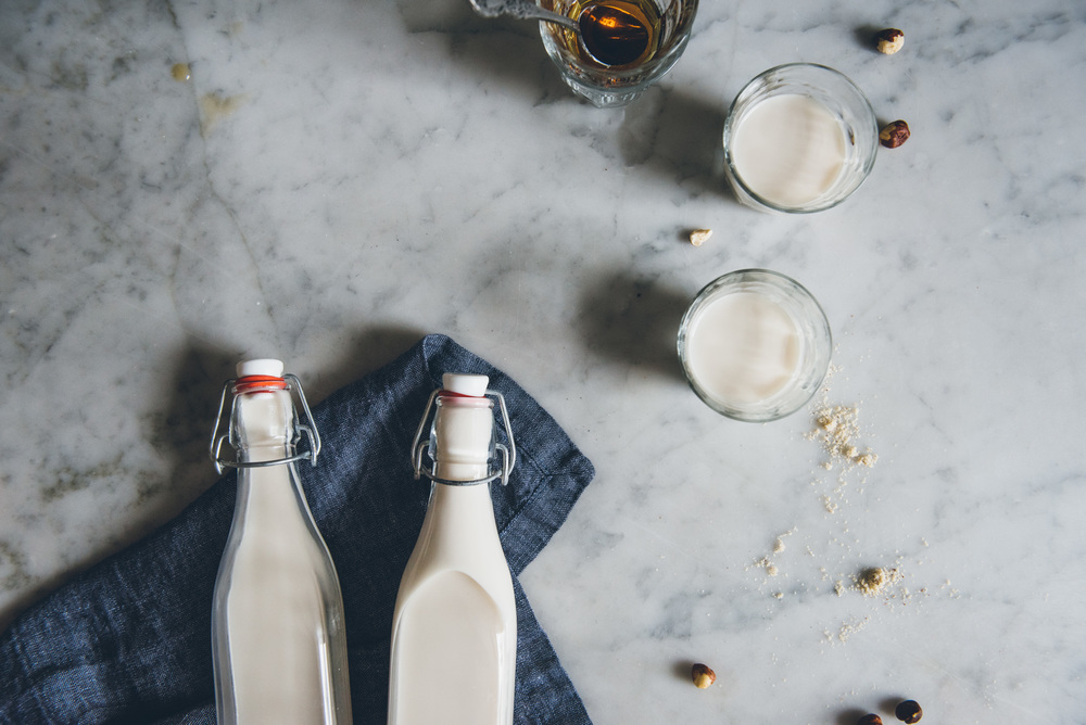 Hazelnut Milk | O&O Eats