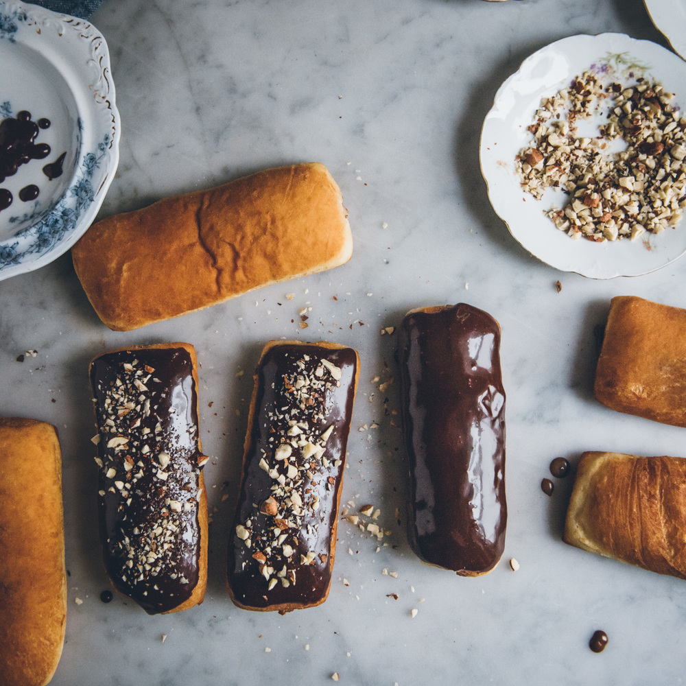 Chocolate Hazelnut Long Johns