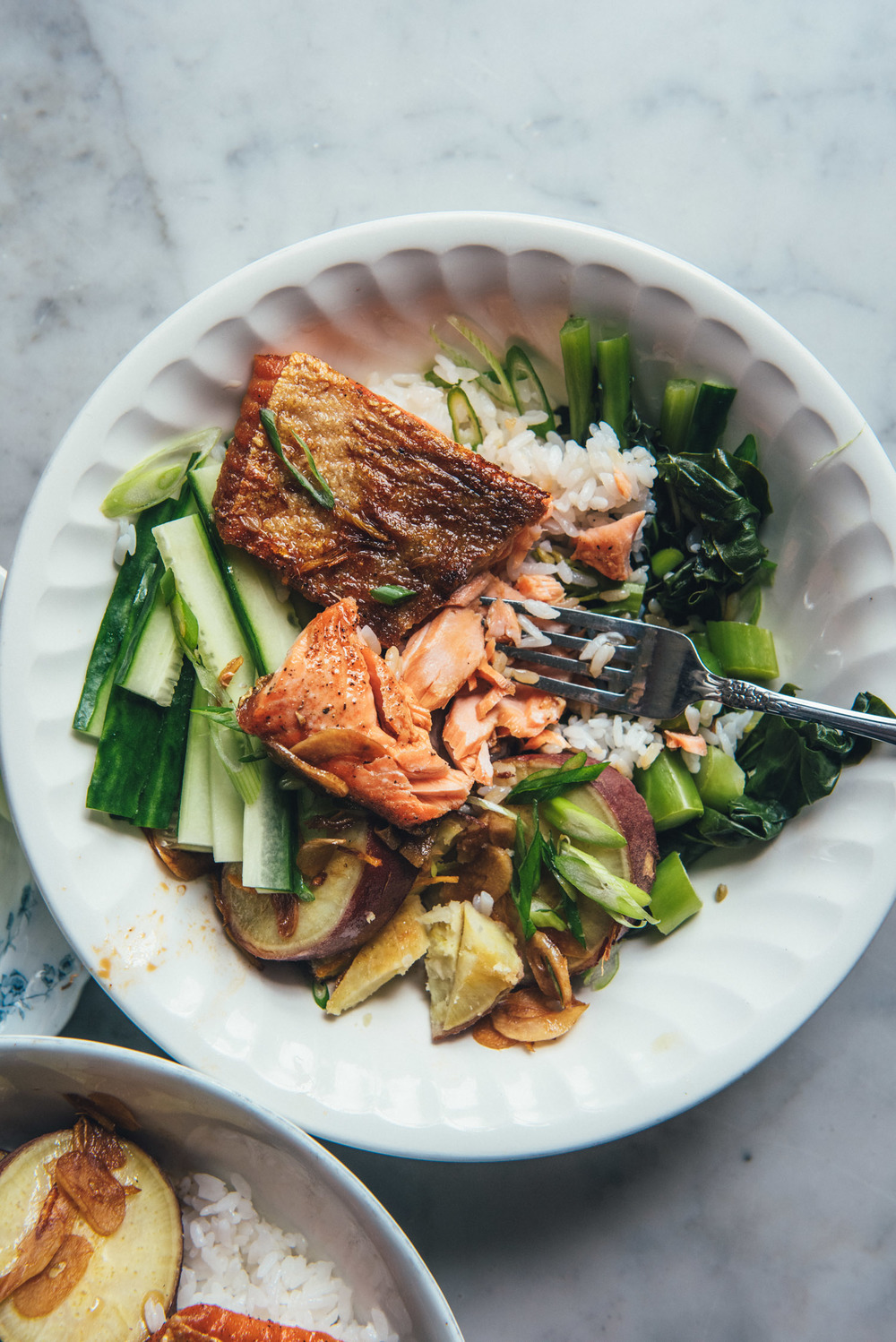 Arctic Char Rice Bowl
