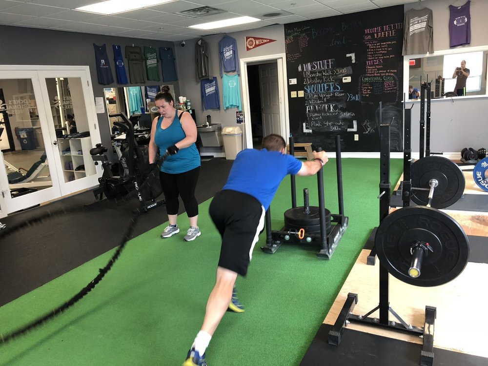 """Why You Should Hire A Personal Trainer - Read our blog article about the reasons why you should hire a personal trainer. Excerpt: """"A good trainer can shorten the exercise learning curve if you're new to exercising, keep you safe, provide structure to your training, hold you accountable, and help you make progress more quickly than you could on your own."""""""
