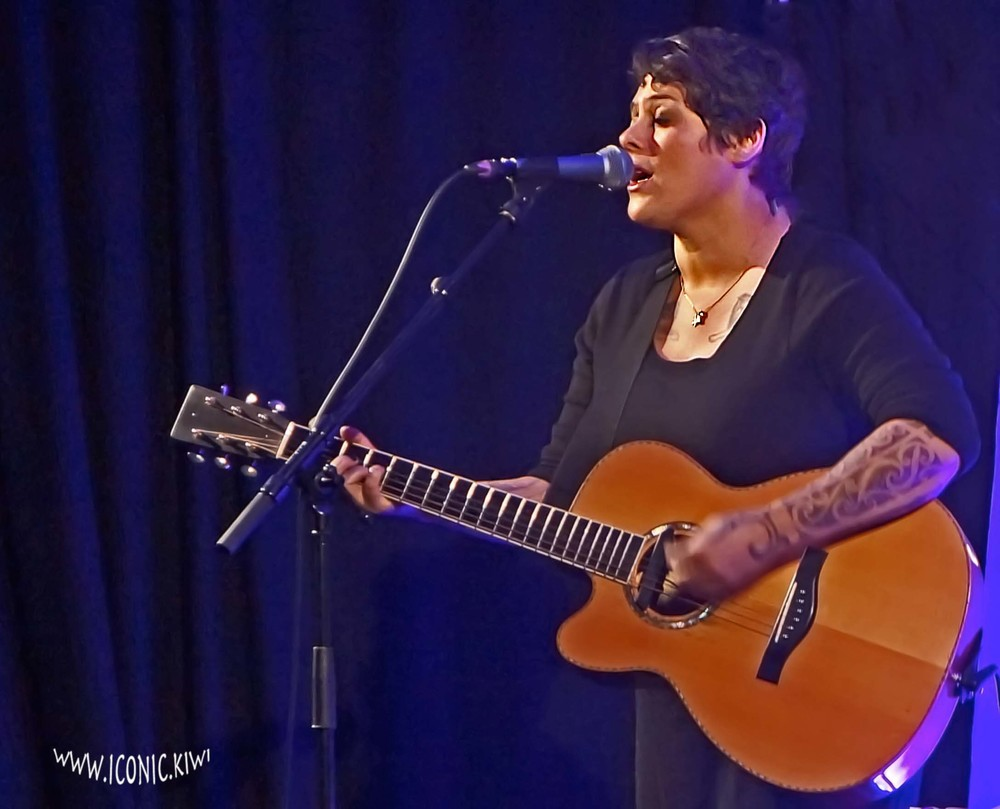 Anika Moa in concert in Whangarei, Northland, New Zealand