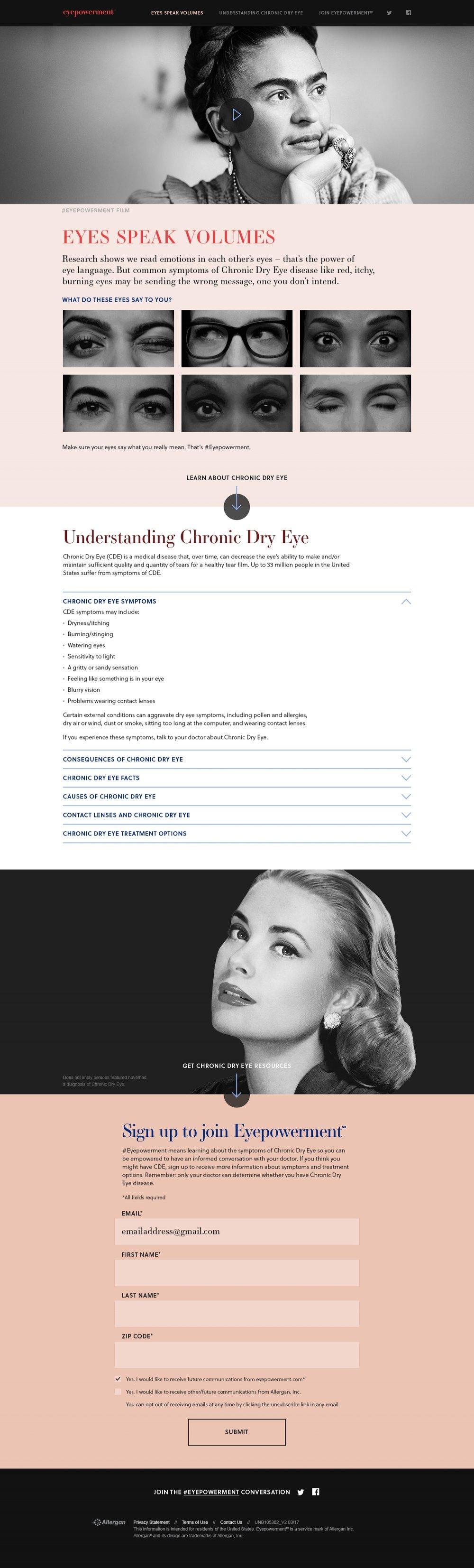 eyepowerment.com page