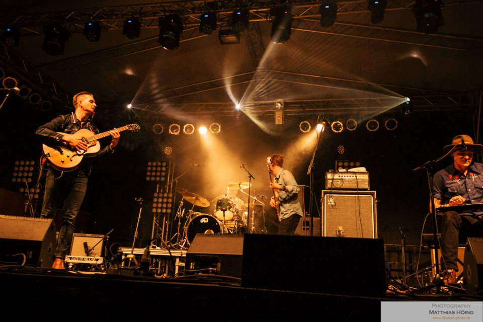 Dragondeer at Germany's 24th annual Grolsch Blues Festival