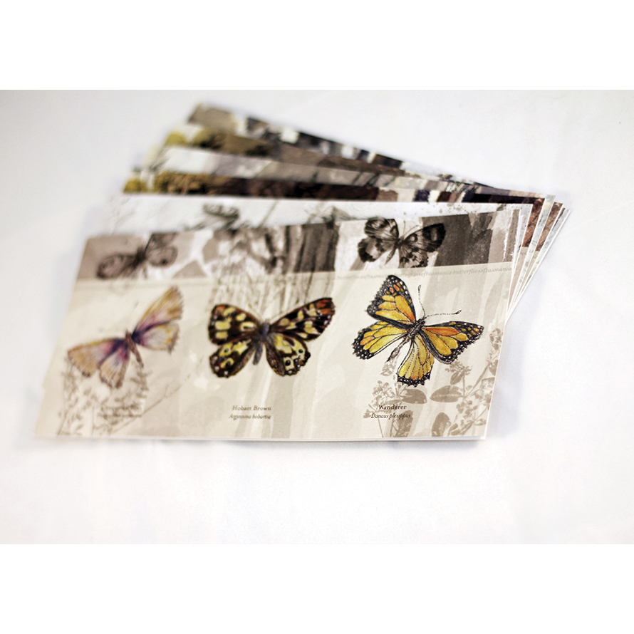Margaret Vandenberg   Design and layout of Margaret Vandenberg's  Flora and Fauna  series of Art Cards, in collaboration with Sarah Owen Design.