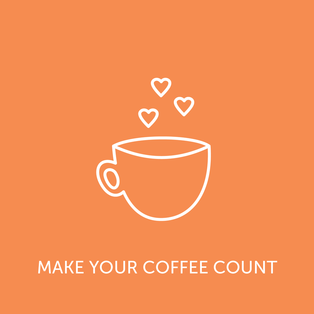 Buy a coffee with a conscience from one of our partner cafes! Click through for more details.