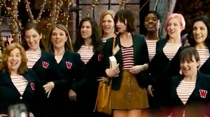 Treble NYC performs as Wesleyan Alumni A Cappella Group