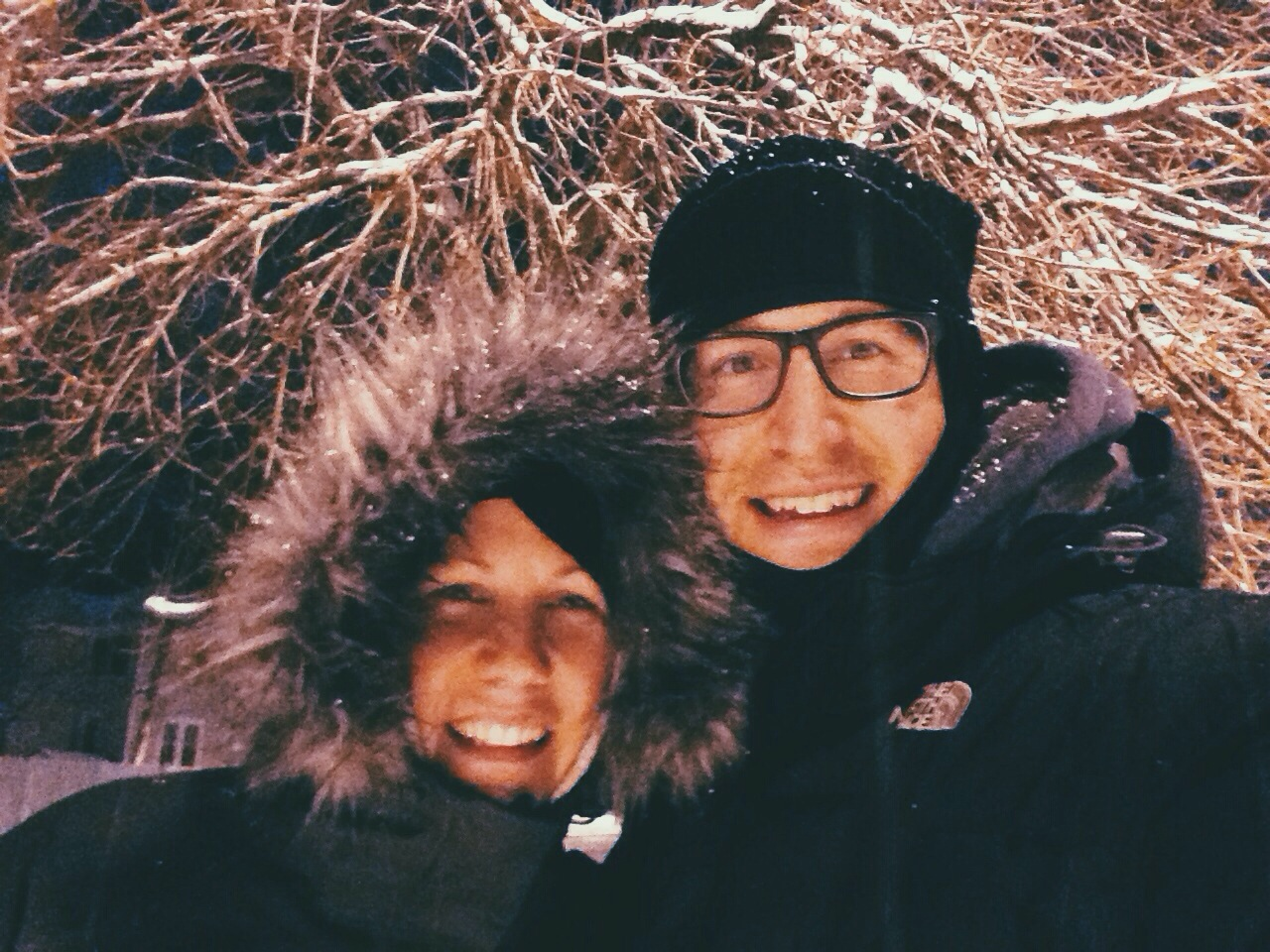 Marry someone who is willing to go for a walk in a snowstorm.