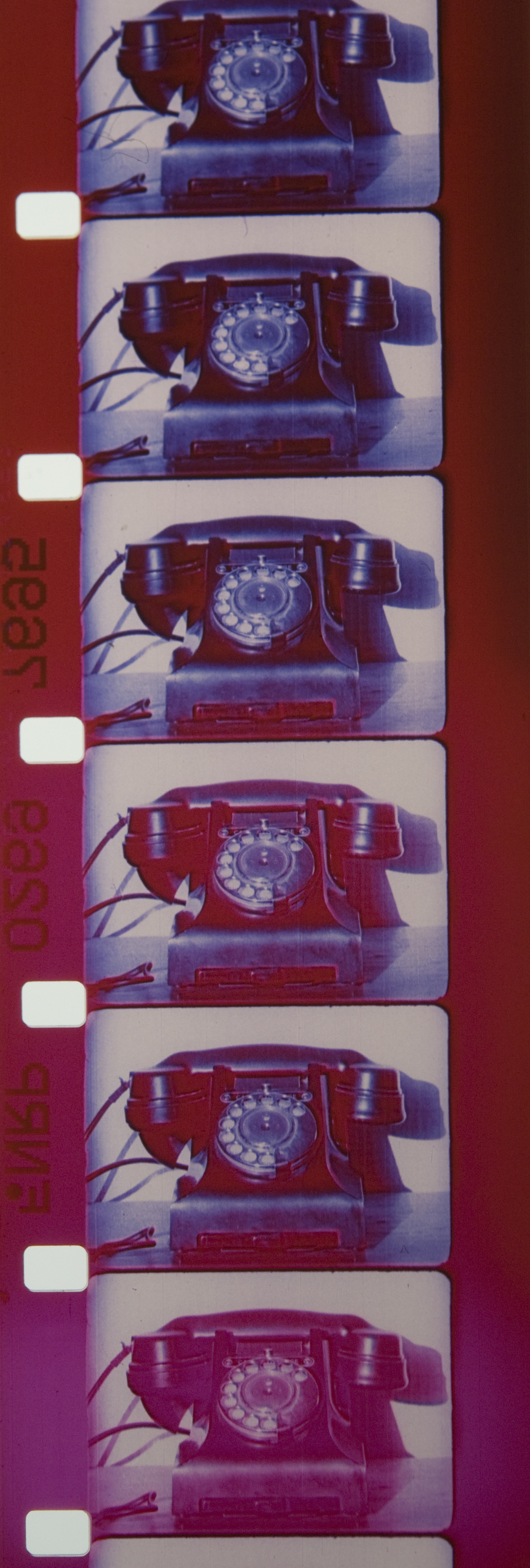 v=d/t film strip