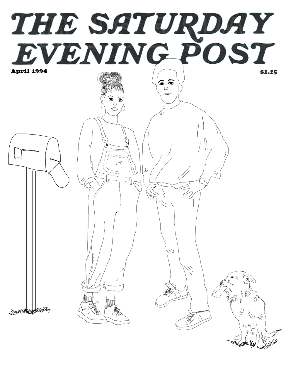 Saturday Evening Post Mockup