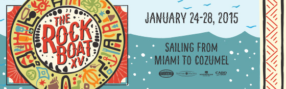 Alright ya'll. No more waiting. I'm excited to tell you that in January me and the band will be hitting the high sea's with  Sister Hazel ,  Barenaked Ladies  & some of our buddies  Steve Everett ,  Melodime ,  Red Wanting Blue ,  The Alternate Routes  for  Sixthman 's  The Rock Boat  XV Cruise. We owe this all to the Rock Boaters that voted for us! We also need to give a shout out to our friends at  Rock By The Sea  for introducing us to many of the Rock Boaters this past May and providing us the opportunity of sharing our music with them. Thank you all. We are very grateful. Check out this official video announcement from Sixthman. See you on the boat!