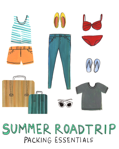 Packing Essentials for Your Summer Road Trip May 2016