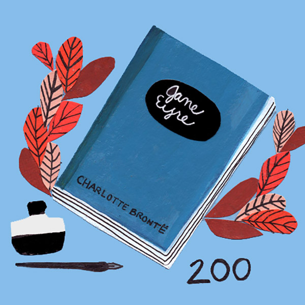 Illustration for Charlotte Bronte's 200th Birthday