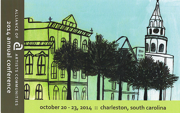 Broad Street Charleston used for Marketing Materials for Alliance of Artist Communities 2014